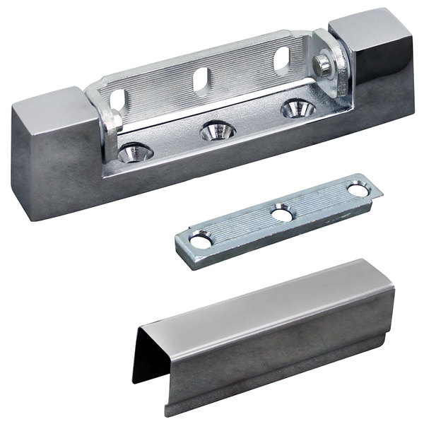"Market Forge 08-5225 Equivalent 5"" x 15 /16"" Edge Mount Door Hinge with 25/32"" Offset - High Heat Rated Main Image 1"