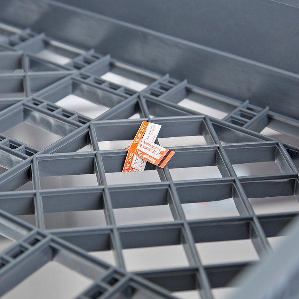 Taylor 8767J TempRite Single Use Dishwasher 180 Degrees F Test Strip - 25/Pack Main Image 4