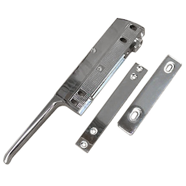 "All Points 22-1096 11 1/2"" Magnetic Door Latch with Lock and Strike"