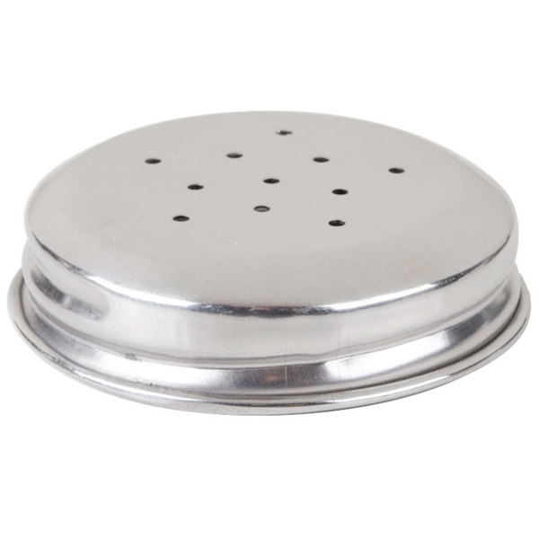 American Metalcraft M30SP 2 oz. Salt and Pepper Shaker Replacement Lid Main Image 1
