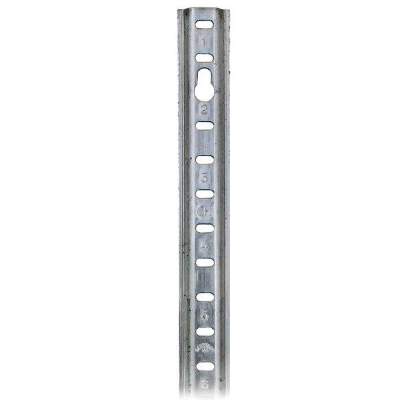 """Component Hardware T21-0072 Equivalent Aluminum Keyhole Shelf Pilaster - 72"""""""