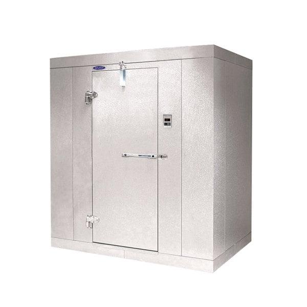 """Lft. Hinged Door Nor-Lake KL1010 Kold Locker 10' x 10' x 6' 7"""" Indoor Walk-In Cooler Box"""