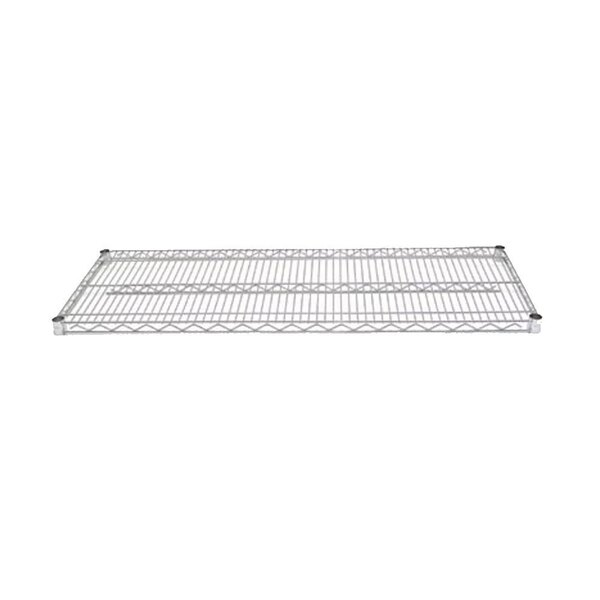 Advance Tabco EC-1430 14 inch x 30 inch Chrome Wire Shelf