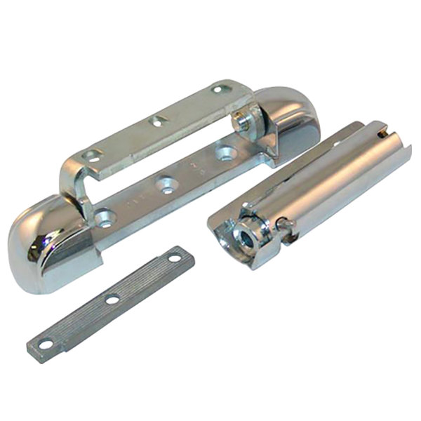 "All Points 26-3383 5 3/4"" x 1 1/8"" Spring-Assisted Edge Mount Door Hinge with 7/8"" Offset"