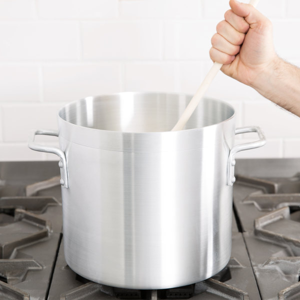 12 Qt. Standard Weight Aluminum Stock Pot