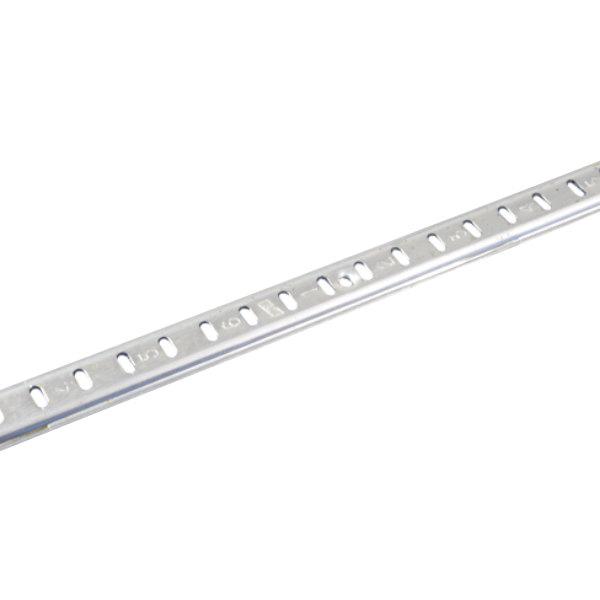 "Kason 10060007072 Aluminum Standard Shelf Pilaster - 72"""