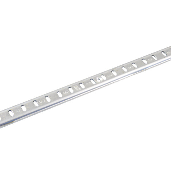"Kason 10060007036 Aluminum Standard Shelf Pilaster - 36"""