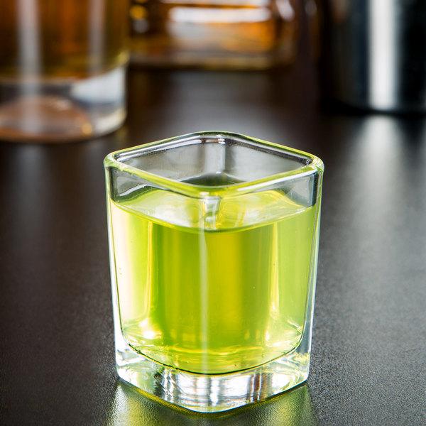 Arcoroc 19188 2.5 oz. Square Shot Glass by Arc Cardinal - 72/Case