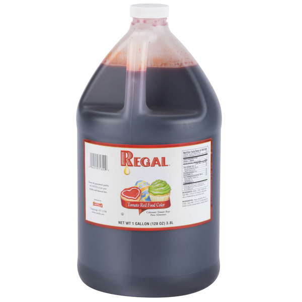 Tomato Red Food Coloring - 1 Gallon