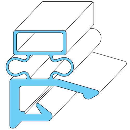"""Vulcan 280984-10 Equivalent Magnetic 3-Sided Door Gasket - 29 13/32"""" x 69 1/16"""""""