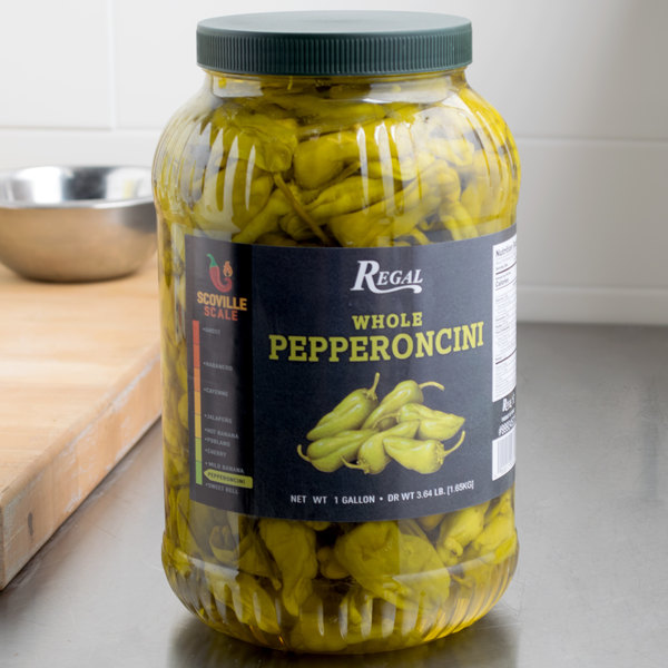 Regal Foods Whole Pepperoncini 1 Gallon