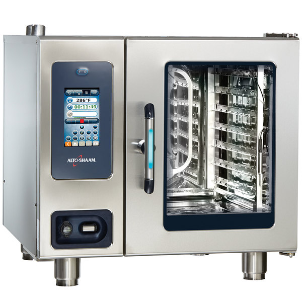Alto-Shaam CTP6-10G Combitherm Proformance Liquid Propane Boiler-Free 7 Pan Combi Oven - 120V