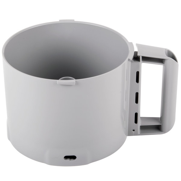 Robot Coupe 112204S Replacement 3 Qt. Gray Bowl with Pin
