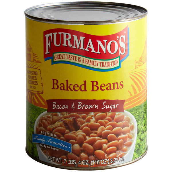 Furmano S Baked Beans 10 Can