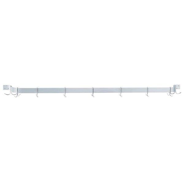 "Advance Tabco GW1-108 Wall Mounted Single Bar Pot Rack - 108"""