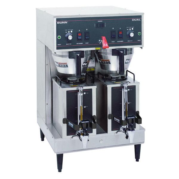 Bunn 20900.0011 Dual Brewer with Portable Servers & 3 Settings - 120/240V, 6890W