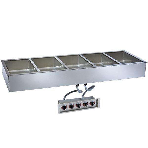 "Alto-Shaam 500-HW/D4 Five Pan Drop In Hot Food Well - 4"" Deep Pans, 120V"