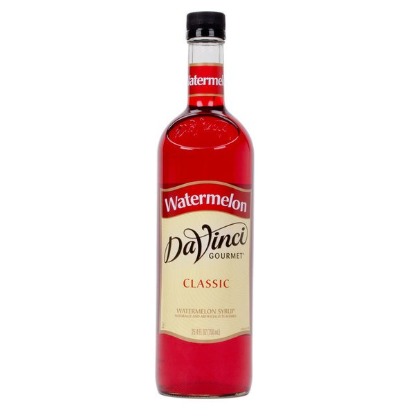 DaVinci Gourmet 750 mL Classic Watermelon Flavoring / Fruit Syrup