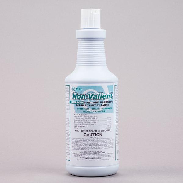 Noble Chemical 32 oz. Non-Valient Non-Acid Toilet Bowl & Restroom Cleaner / Disinfectant - 12/Case