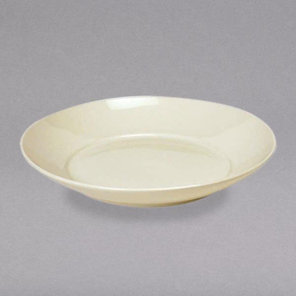 Tuxton BED-1253 Duratux 2.125 Qt. Ivory (American White) China Pasta / Salad Bowl - 12/Case