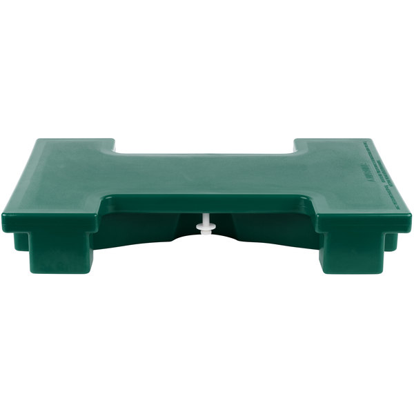 Cambro VBRC519 Green Straight Connector for Versa Food Bars