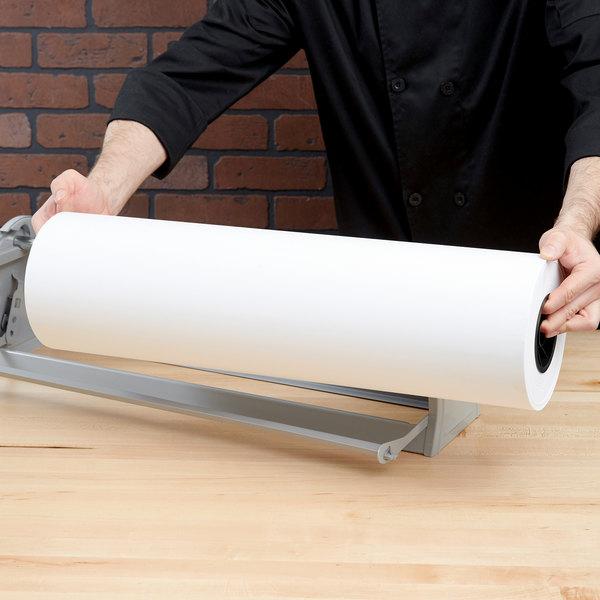 24'' x 700' 40# White Butcher Paper Roll Main Image 4