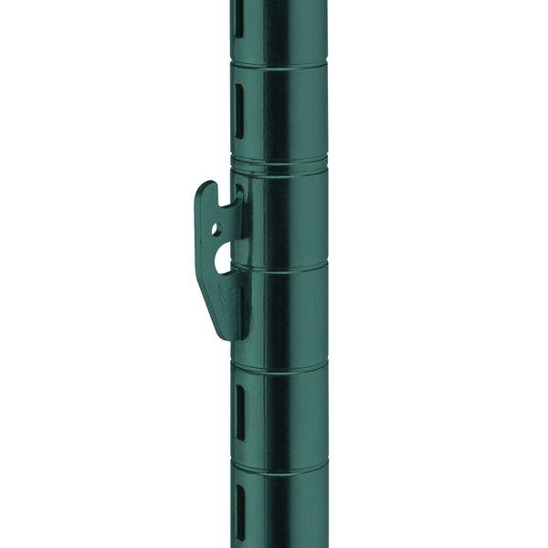 "Metro 63UPQ-DHG qwikSLOT Hunter Green Mobile Post - 62"""