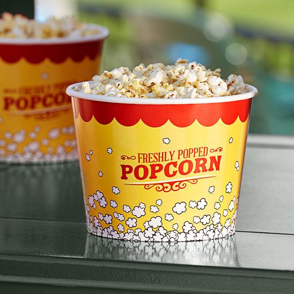 Carnival King 85 oz. Popcorn Bucket - 25/Pack Main Image 2