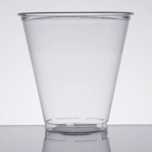 Dart UltraClear 5C 5 oz. Clear PET Plastic Cold Cup - 2500/Case
