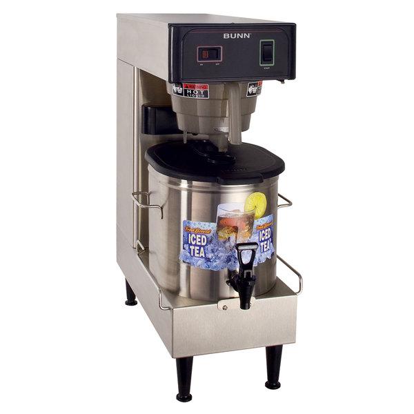 Bunn 36700.0100 TB3Q-LP Quick Brew Low Profile 3 Gallon Iced Tea Brewer - 120V Main Image 1