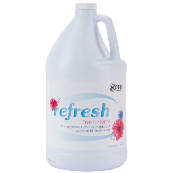 Noble Chemical 1 Gallon / 128 oz. Refresh Deodorizing Fluid