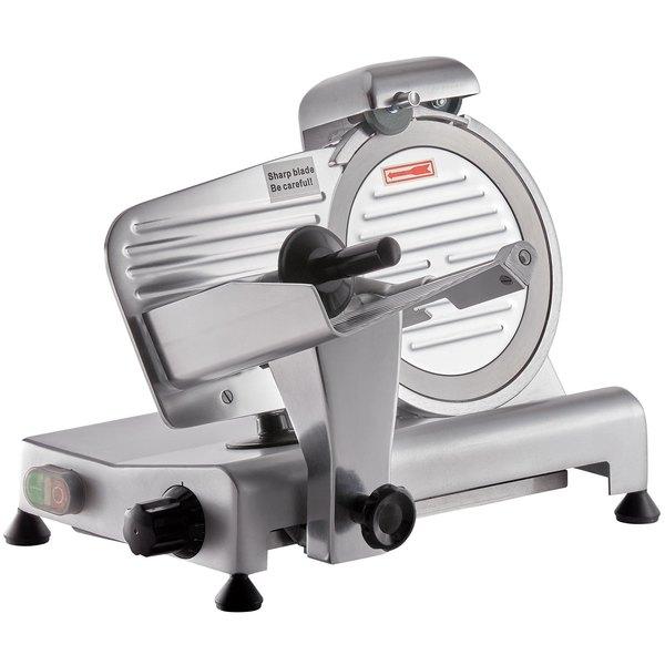 Avantco SL309 9 inch Manual Gravity Feed Meat Slicer - 1/4 hp