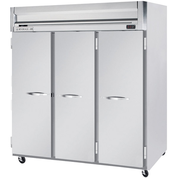 """Beverage-Air HF3-5S Horizon Series 78"""" Solid Door Reach-In Freezer"""