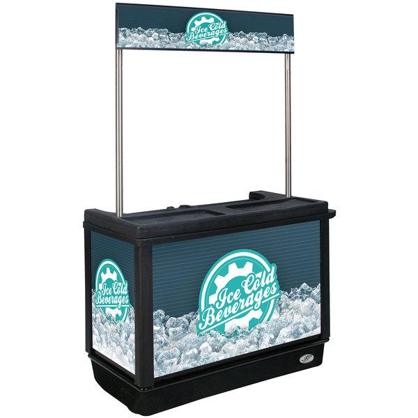 IRP 3650040 280 Qt. Beverage Cart Main Image 1