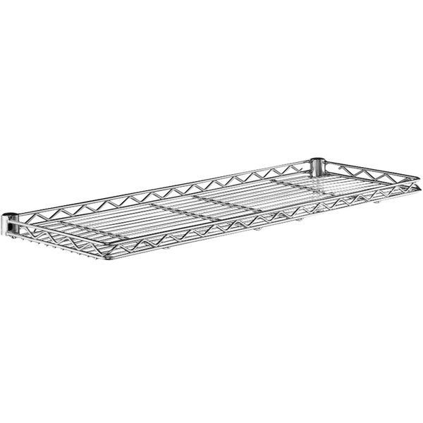 """Metro 1242CSNC Chrome Cantilever Shelf - 12"""" x 42"""" Main Image 1"""