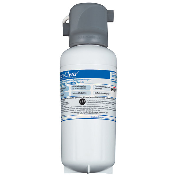Bunn EQHP-25L Easy Clear Water Filter with Lime Scale Inhibitor - 2.1 gpm (Bunn 39000.0002)