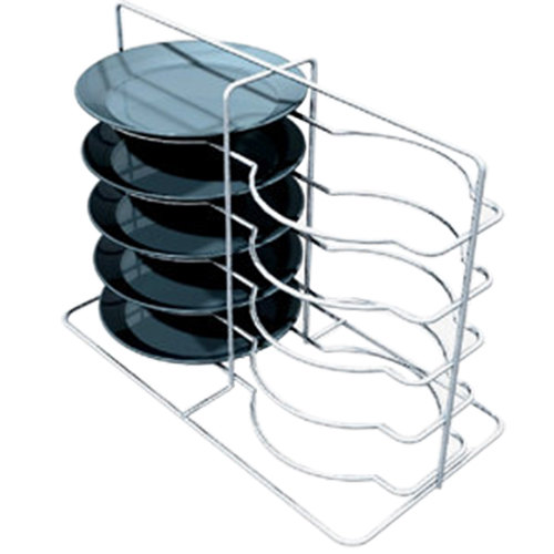 Metro MBQ-P2-17 Open Plate Carrier / Rack for Two Door Banquet Cabinets Holds 10 Plates