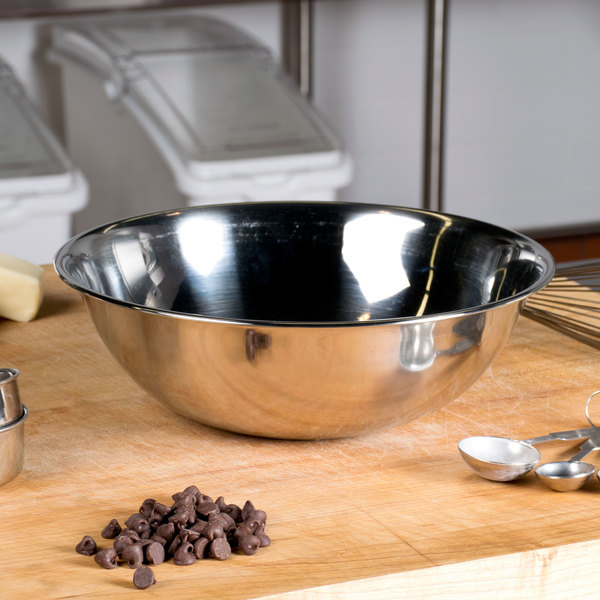 Vollrath 47934 4 Qt. Stainless Steel Mixing Bowl