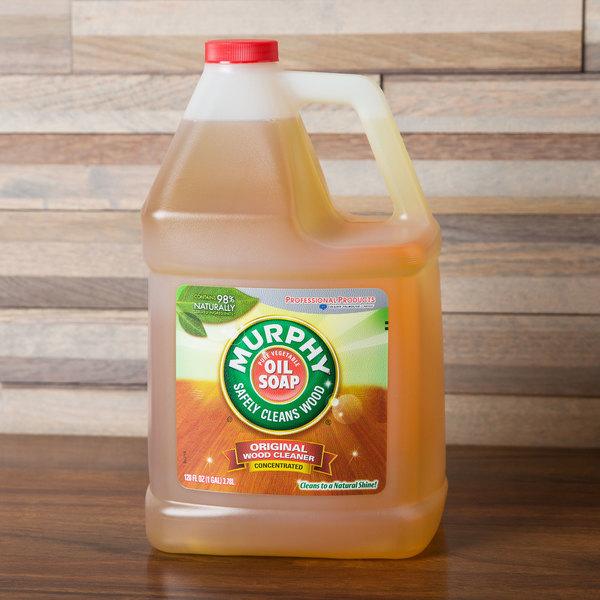 Colgate 101103 Murphy's 1 gallon / 128 oz. Container Oil Soap - 4/Case Main Image 5