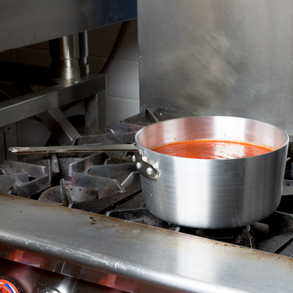 4.5 Qt. Tapered Aluminum Sauce Pan