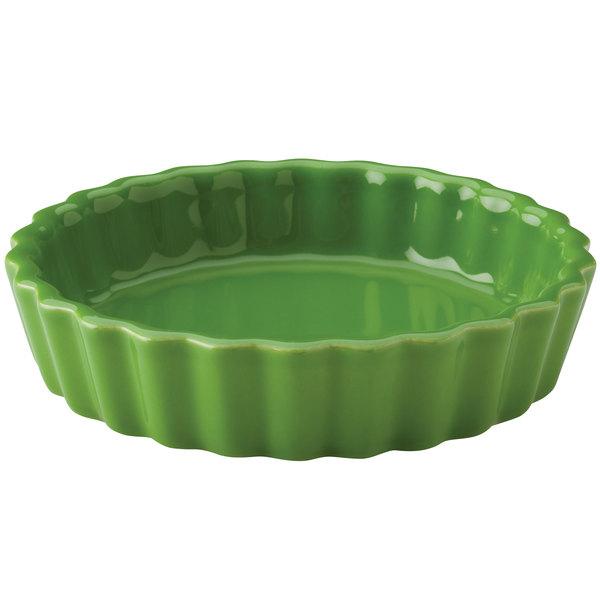 Hall China 30863324 Shamrock 5 oz. Colorations Round Fluted Souffle / Creme Brulee Dish - 24/Case