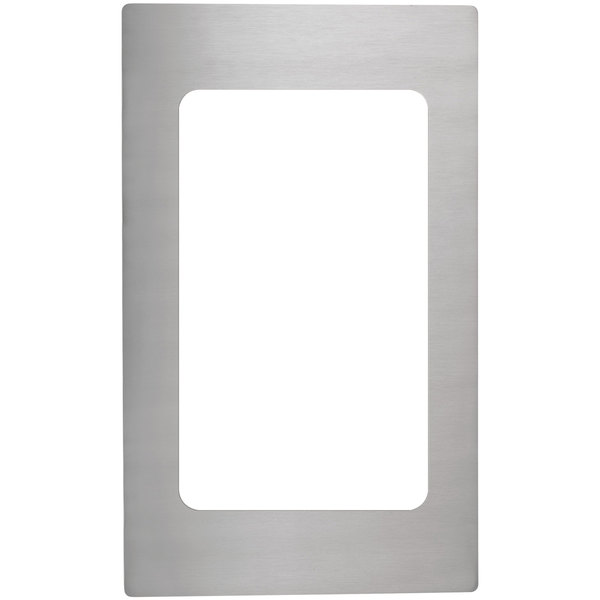 Vollrath 8240514 Miramar Stainless Steel Adapter Plate for 3/4 Size Food Pan Main Image 1