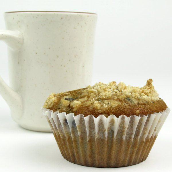 """White Fluted Baking Cup 2 1/4"""" x 1 3/8"""" - 10000/Case"""
