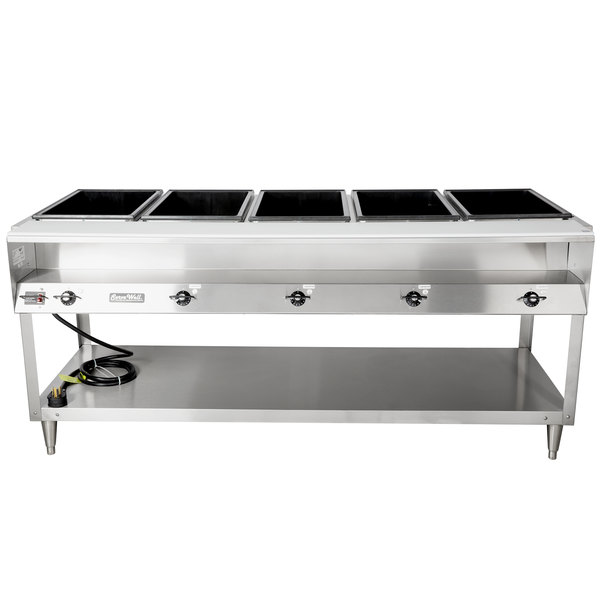 Vollrath 38105 Servewell Electric Five Pan Hot Food Table