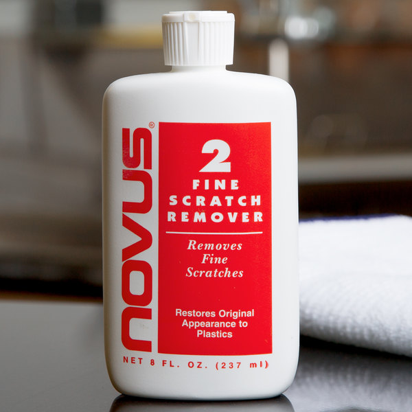 For All Plastic And Acrylic Surfaces Novus Fine Scratch Remover