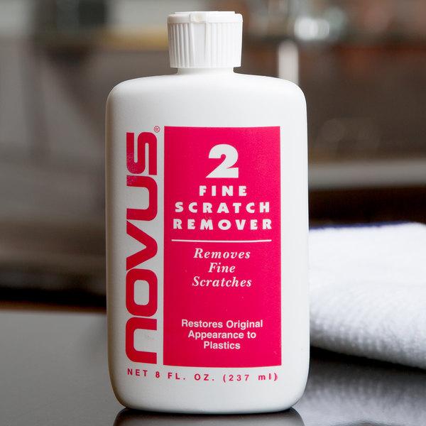Novus PN-7030 8 oz. Plastic Polish #2 Fine Scratch Remover