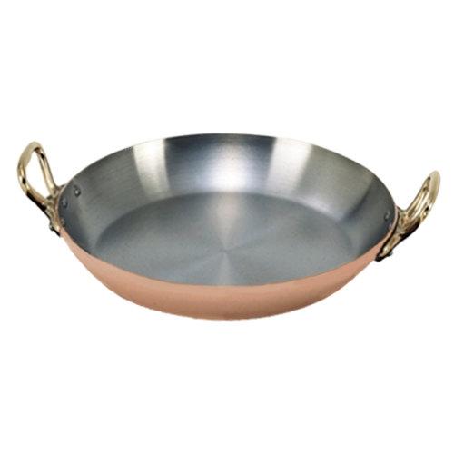 """De Buyer 6449.26 Copper Paella Pan - 10 1/4"""""""