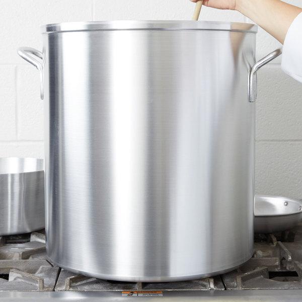 Vollrath 67560 Wear-Ever Classic 60 Qt. Aluminum Stock Pot