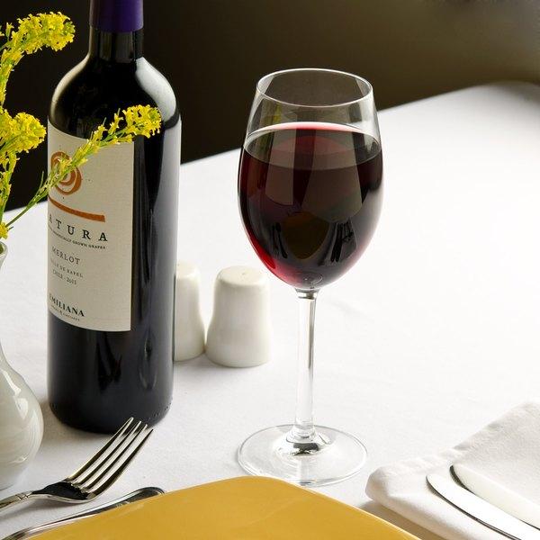 Stolzle A913007189T Angelina 13.5 oz. Burgundy Glass - 6/Pack