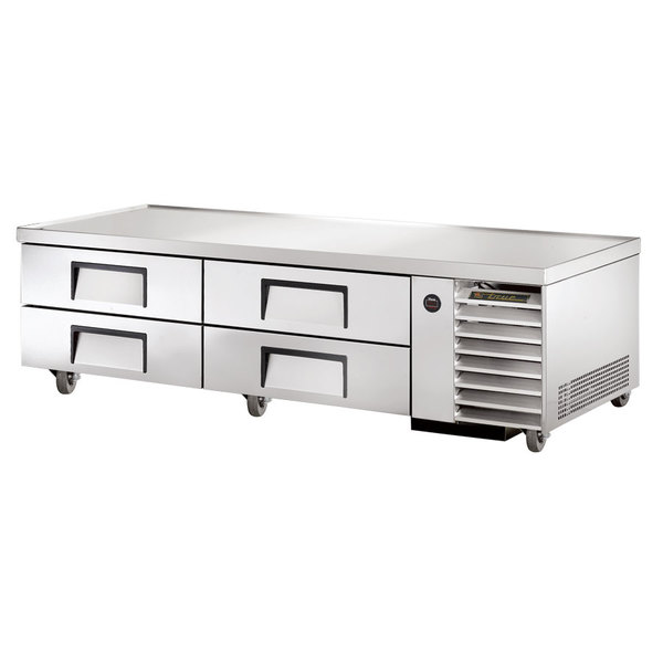 """True TRCB-79 79"""" Four Drawer Refrigerated Chef Base"""